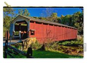 White Rock Forge Covered Bridge Carry-all Pouch
