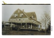White Roe Boarding House-owner E Keene Prior To My Grandfather. Circ 1900s Carry-all Pouch
