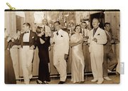 White Roe Lake Hotel-livingston Manor-saturday Night At The Bar Carry-all Pouch