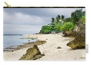 White Sand Beach Moal Boel Philippines Carry-all Pouch