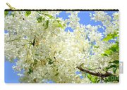 White Shower Tree Carry-all Pouch