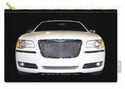 White  Three  Hundred  Limited  In  Black  Carry-all Pouch