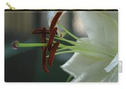 White Tiger Lily II Carry-all Pouch