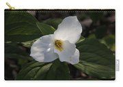 White Trillium Carry-all Pouch