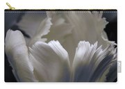 White Tulip Carry-all Pouch
