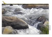 White Water Composition Carry-all Pouch