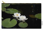White Water-lily 4 Carry-all Pouch