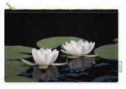 White Water-lily 8 Carry-all Pouch