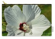 White Wildflower I Carry-all Pouch