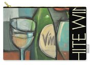 White Wine Poster Carry-all Pouch