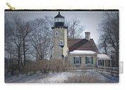 Whitehall Lighthouse In Winter Carry-all Pouch