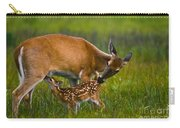 Whitetail Fawn Nursing Carry-all Pouch