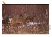 Whitetails On The Move Carry-all Pouch