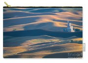Whitman County Grain Silo Carry-all Pouch by Sandra Bronstein