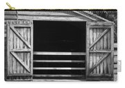 Who Opened The Barn Door Carry-all Pouch by Teresa Mucha