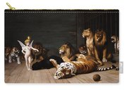 Whoever You Are Here Is Your Master Carry-all Pouch by Jean Leon Gerome