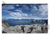 Wide View Of Crater Lake Carry-all Pouch