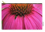 Wild Berry Purple Cone Flower Carry-all Pouch