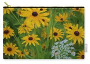 Wild Black Eyed Susan Carry-all Pouch