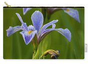 Wild Blue Flag Iris Carry-all Pouch