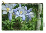 Wild Columbine In An Aspen Glade Carry-all Pouch