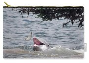 Wild Dolphin Feeding Carry-all Pouch