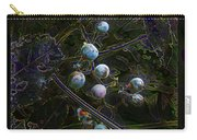 Wild Grapes Abstracted Carry-all Pouch