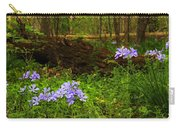 Wild Phlox In The Woodlands Carry-all Pouch