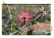 Wild Pink Fairy Duster Carry-all Pouch