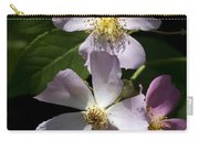 Wild Pink Rambling Rose Carry-all Pouch