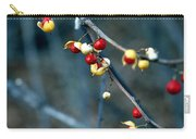 Wild Red Berries Out Of The Shell Carry-all Pouch