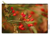 Wild Red Berry Reflections Carry-all Pouch