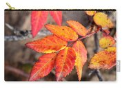 Wild Rose Leaves Carry-all Pouch