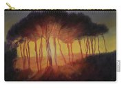Wild Trees At Sunset Carry-all Pouch