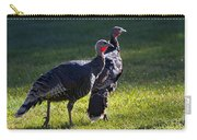 Wild Turkeys Carry-all Pouch by Mike  Dawson