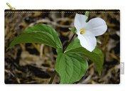 Wild White Trillium Carry-all Pouch