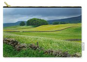 Wildflower Meadow Near Hawes Carry-all Pouch