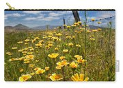 Wildflowers And Barbed Wire Carry-all Pouch