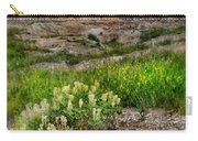 Wildflowers In Badlands Carry-all Pouch