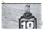 Wildlife Watching The Speed Limit Carry-all Pouch