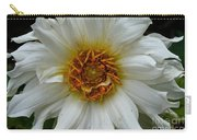 Wiley White Dahlia Carry-all Pouch