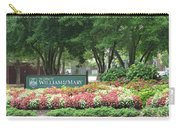 William And Mary. Williamsburg. Virginia. Carry-all Pouch