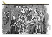 William Caxton (c1421-1491) Carry-all Pouch
