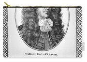 William Craven (1608-1697) Carry-all Pouch