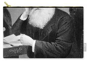 William Cullen Bryant, American Poet Carry-all Pouch by Photo Researchers