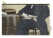 William Cullen Bryant, American Poet Carry-all Pouch by Science Source