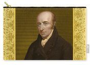 William Hyde Wollaston, English Chemist Carry-all Pouch