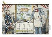 William Mckinley Cartoon Carry-all Pouch
