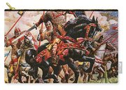William The Conqueror At The Battle Of Hastings Carry-all Pouch