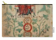 William The Conqueror Family Tree Carry-all Pouch by Photo Researchers
